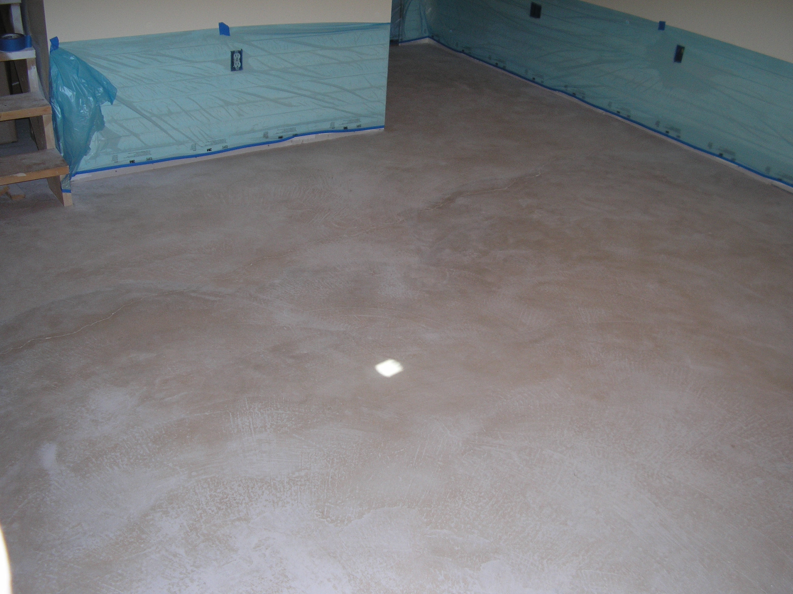 Acid stained concrete floors countertops lafrance basement for How to deep clean concrete floors