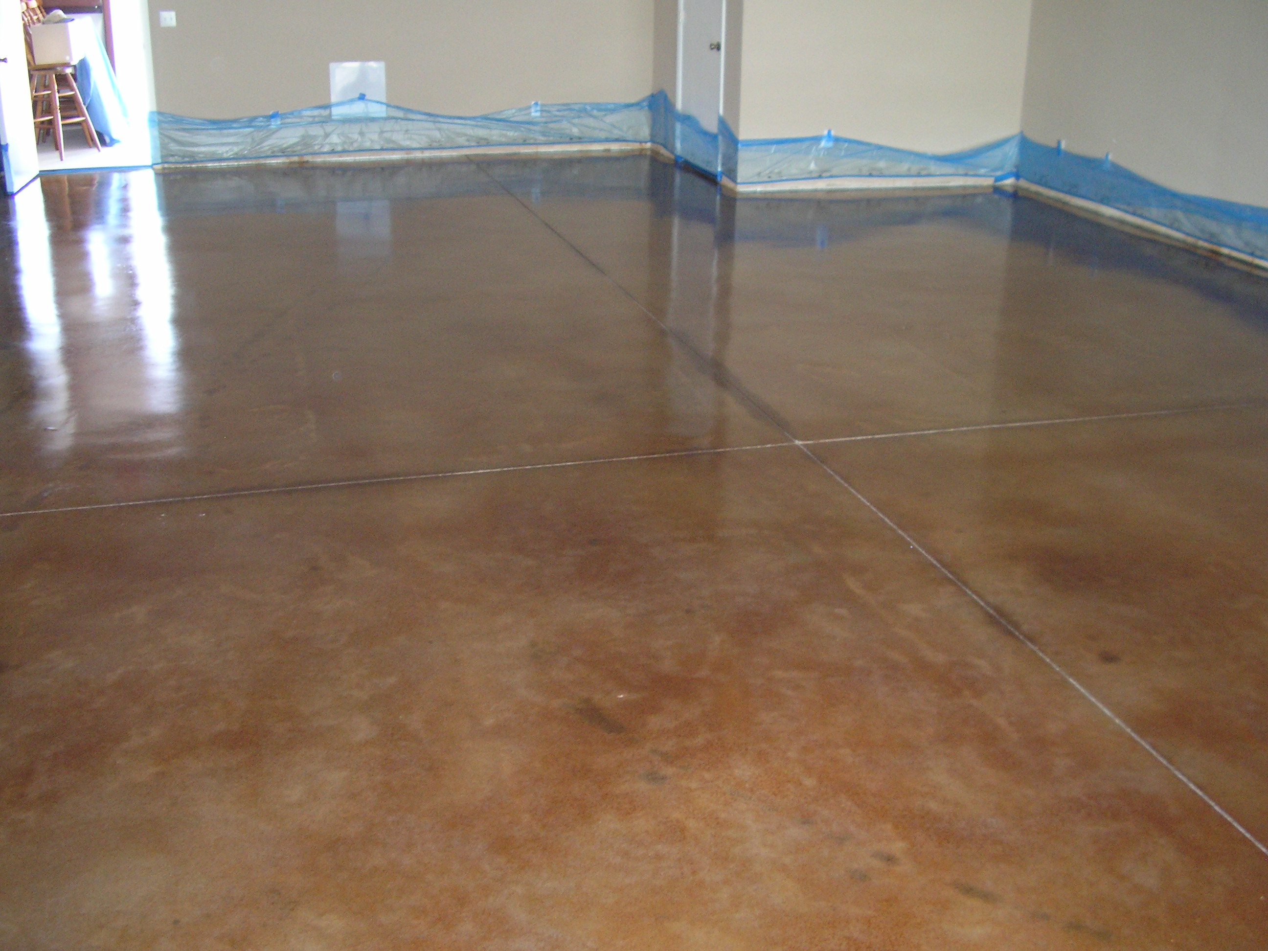 1000 images about stained concrete floors on pinterest for Flooring for concrete